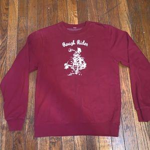 rough rider brandy melville sweatshirt